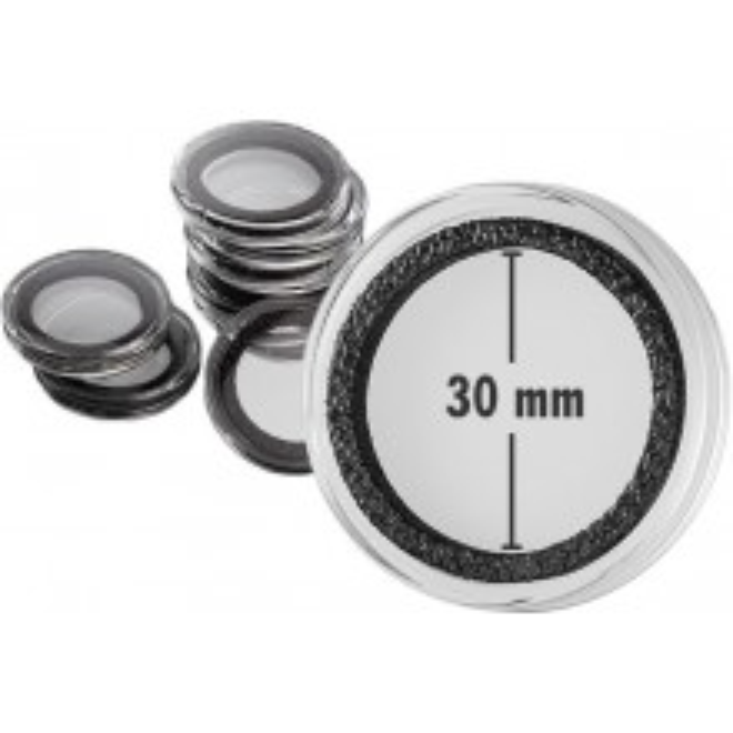 Doos van 10 stuks muntcapsule 30 mm Intercept