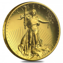 1 Troy ounce Gouden Eagle Ultra High Relief 2009