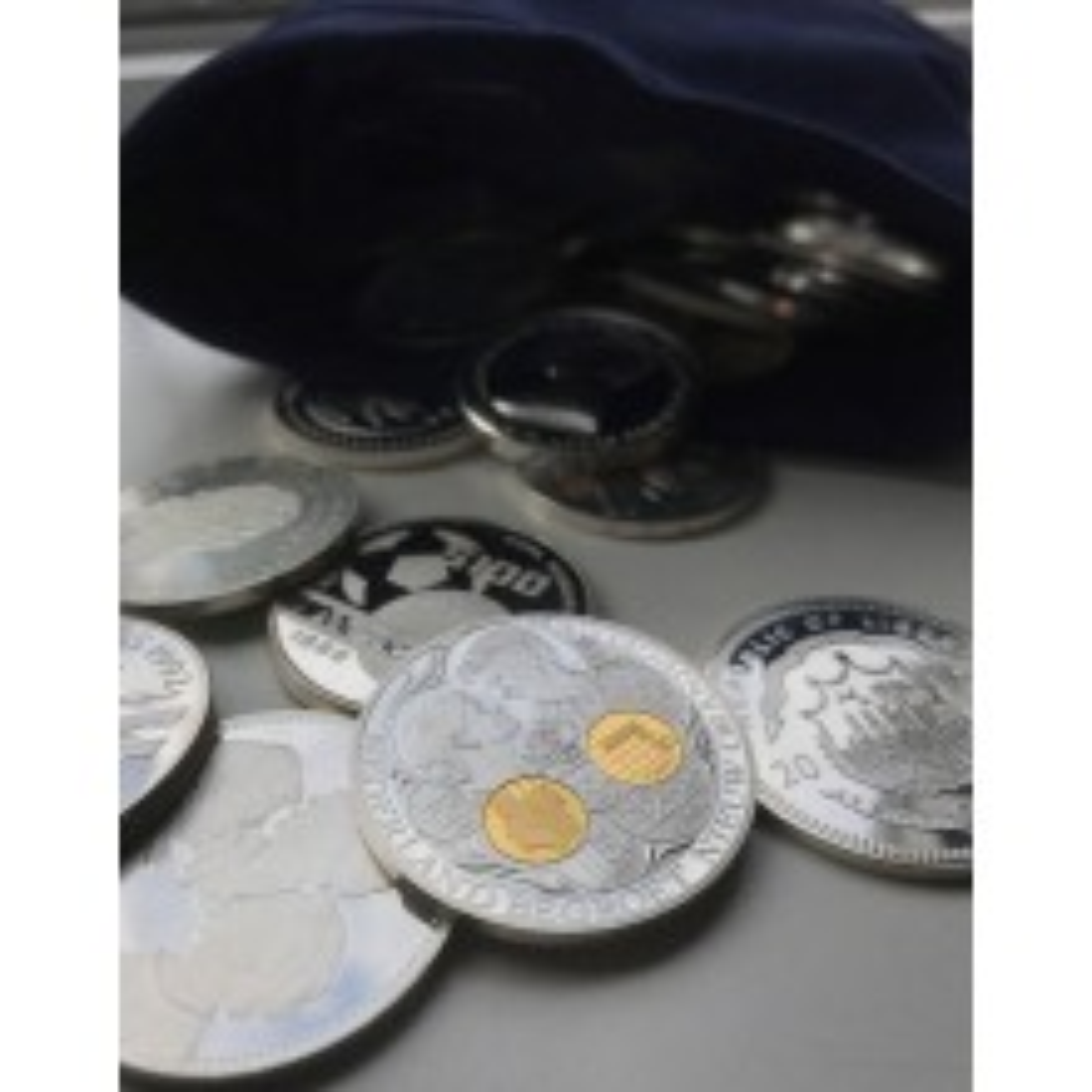 1 kilogram zilver: Sterling zilver munten, penningen en baren
