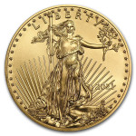 Gouden 1/10 troy ounce American Eagle munt 2021