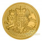 1 Troy ounce gouden munt Royal Arms 2019 of 2020