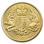 1 Troy ounce gouden munt Royal Arms 2021