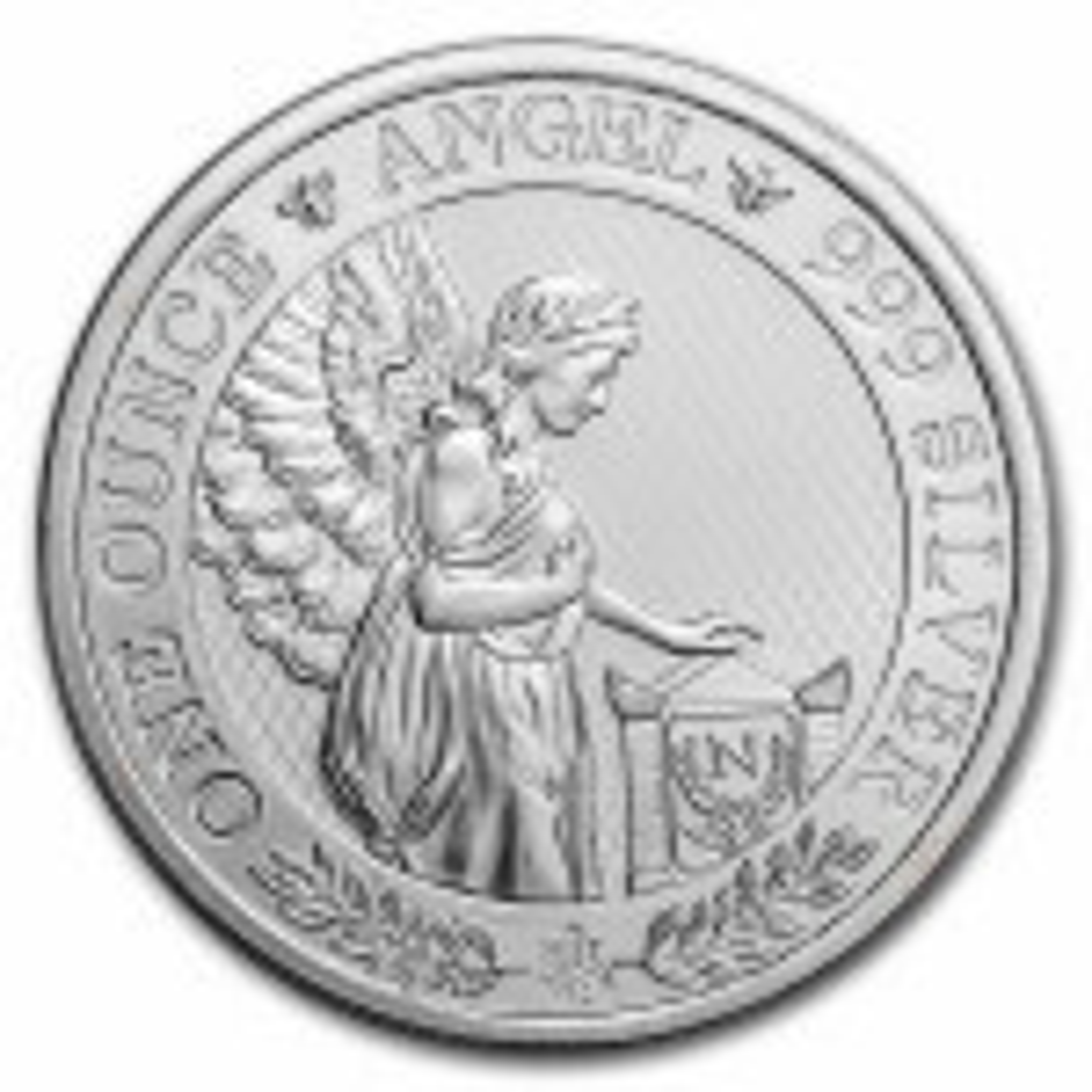 1 troy ounce zilveren munt Saint-Helena engel 2021