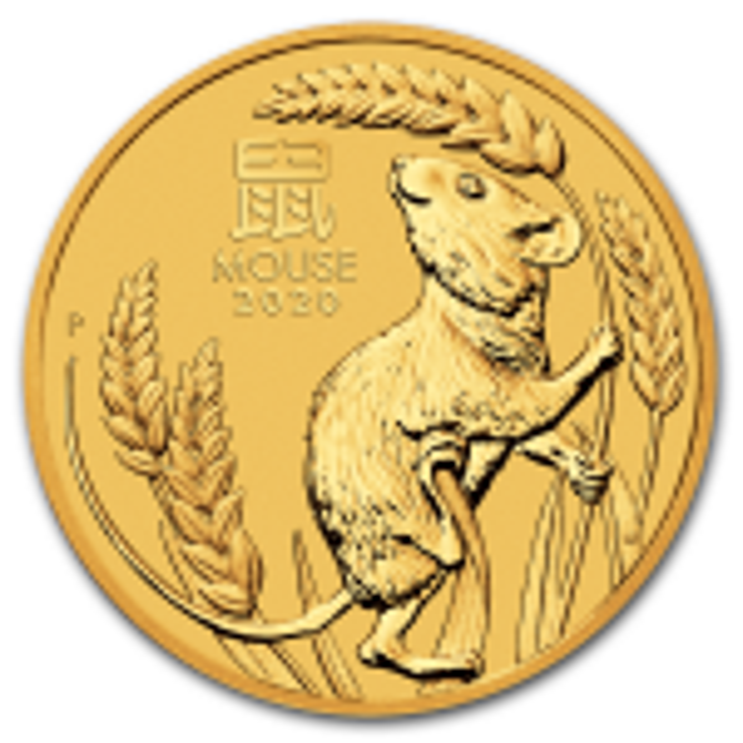 1/10 Troy ounce gouden munt Lunar 2020