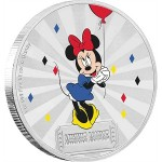 1 Troy ounce zilveren munt Disney - Carnival Minnie Mouse 2019