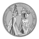 5 Troy ounce zilveren munt Germania Allegories 2019