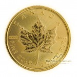 1/2 troy ounce gouden Maple Leaf munt 2020