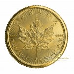 1/4 Troy ounce gouden munt Maple Leaf 2020