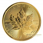 1 troy ounce gouden Maple Leaf munt 2021