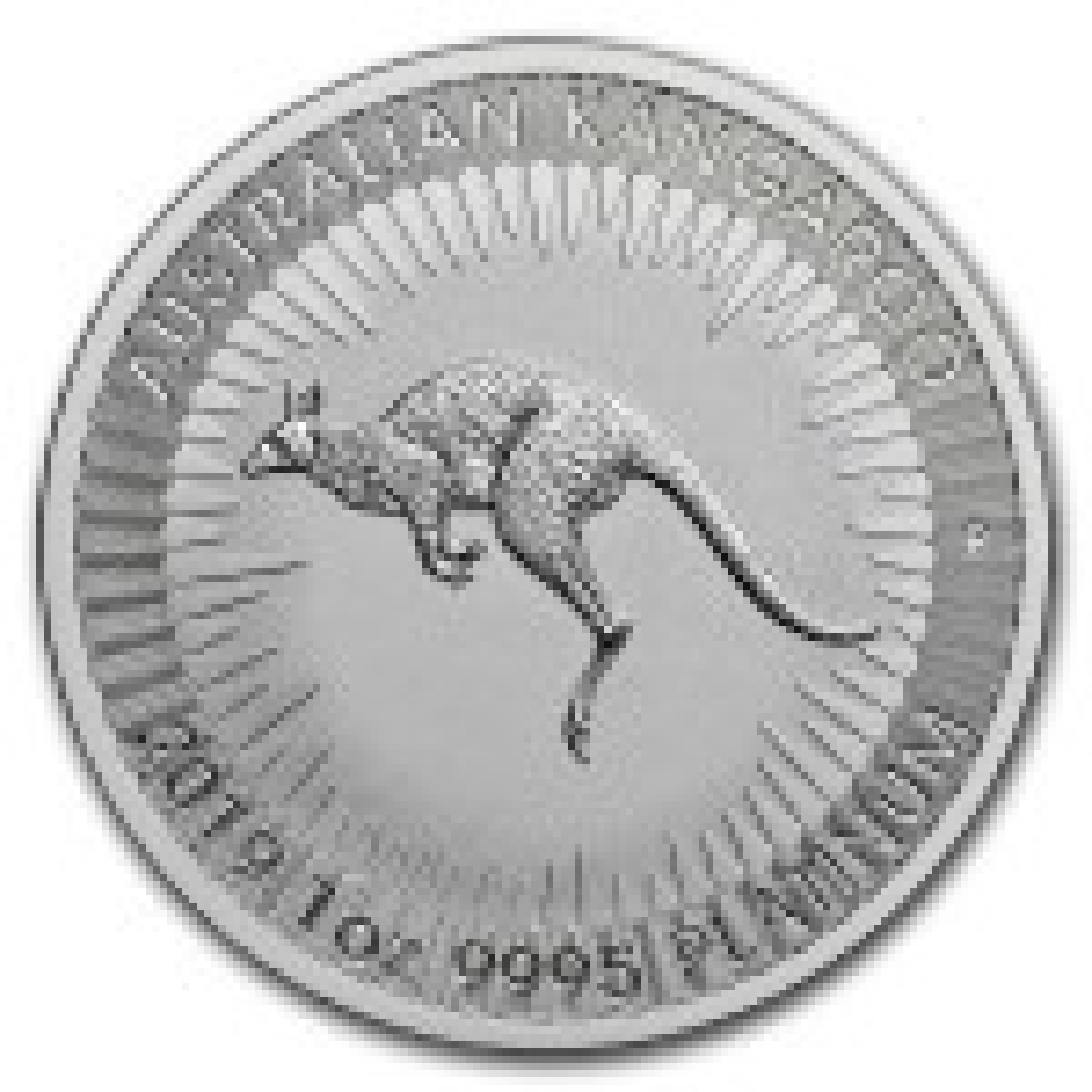 1 Troy ounce platina Kangaroo munt 2019