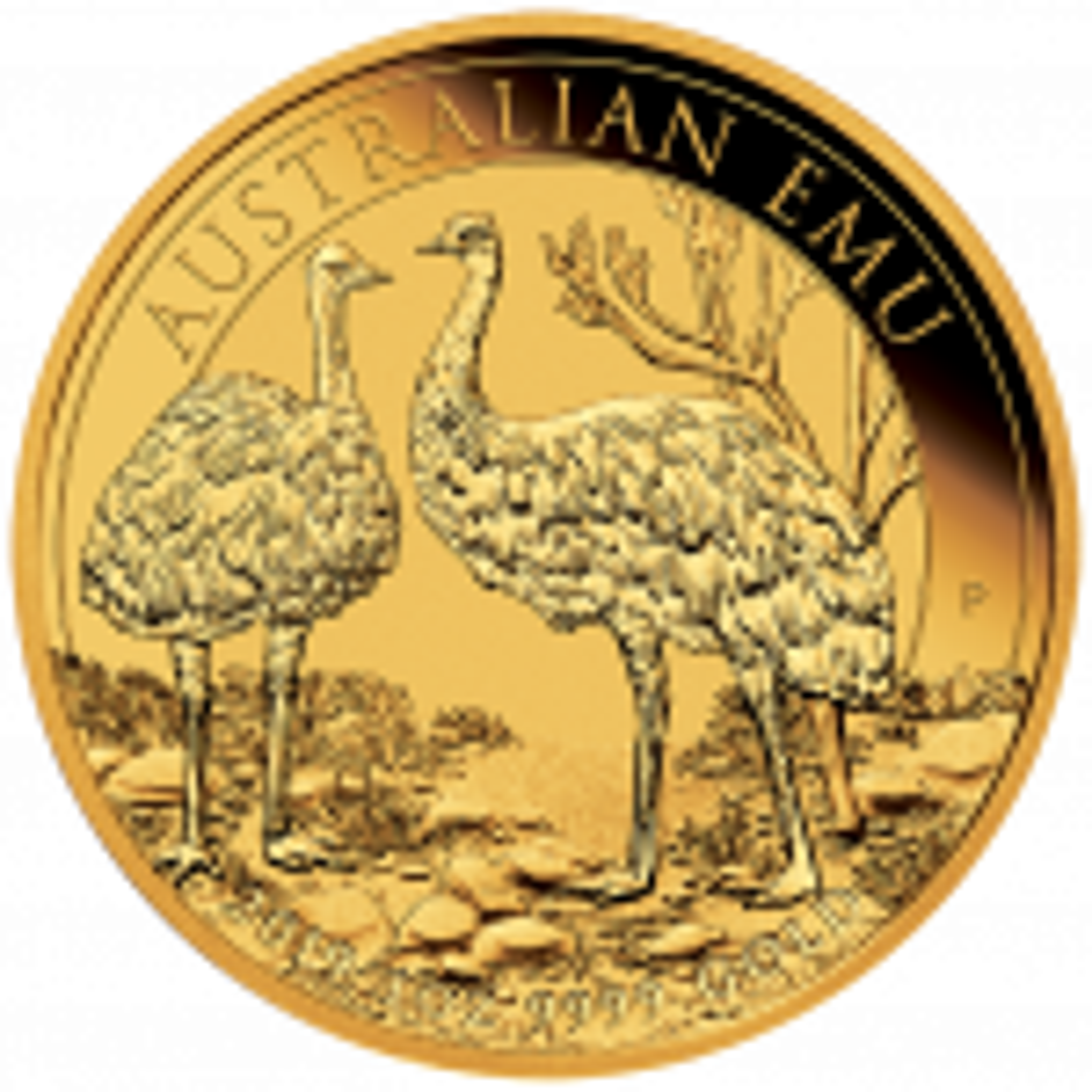 1 Troy ounce gouden munt Emoe 2019