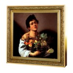 1 Troy ounce zilveren munt Boy Basket Fruit Caravaggio