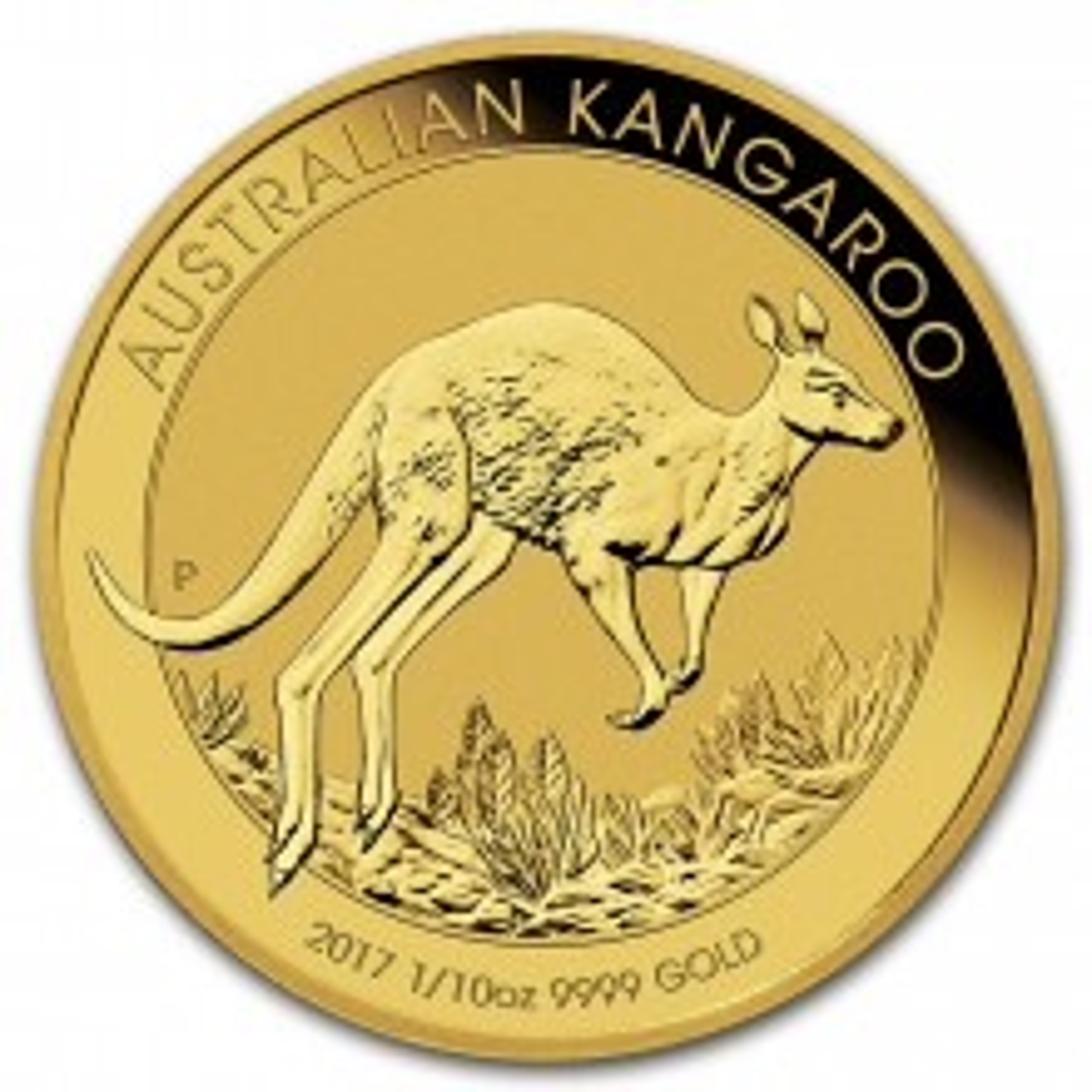 Gouden 1/10 troy ounce Kangaroo munt 2017