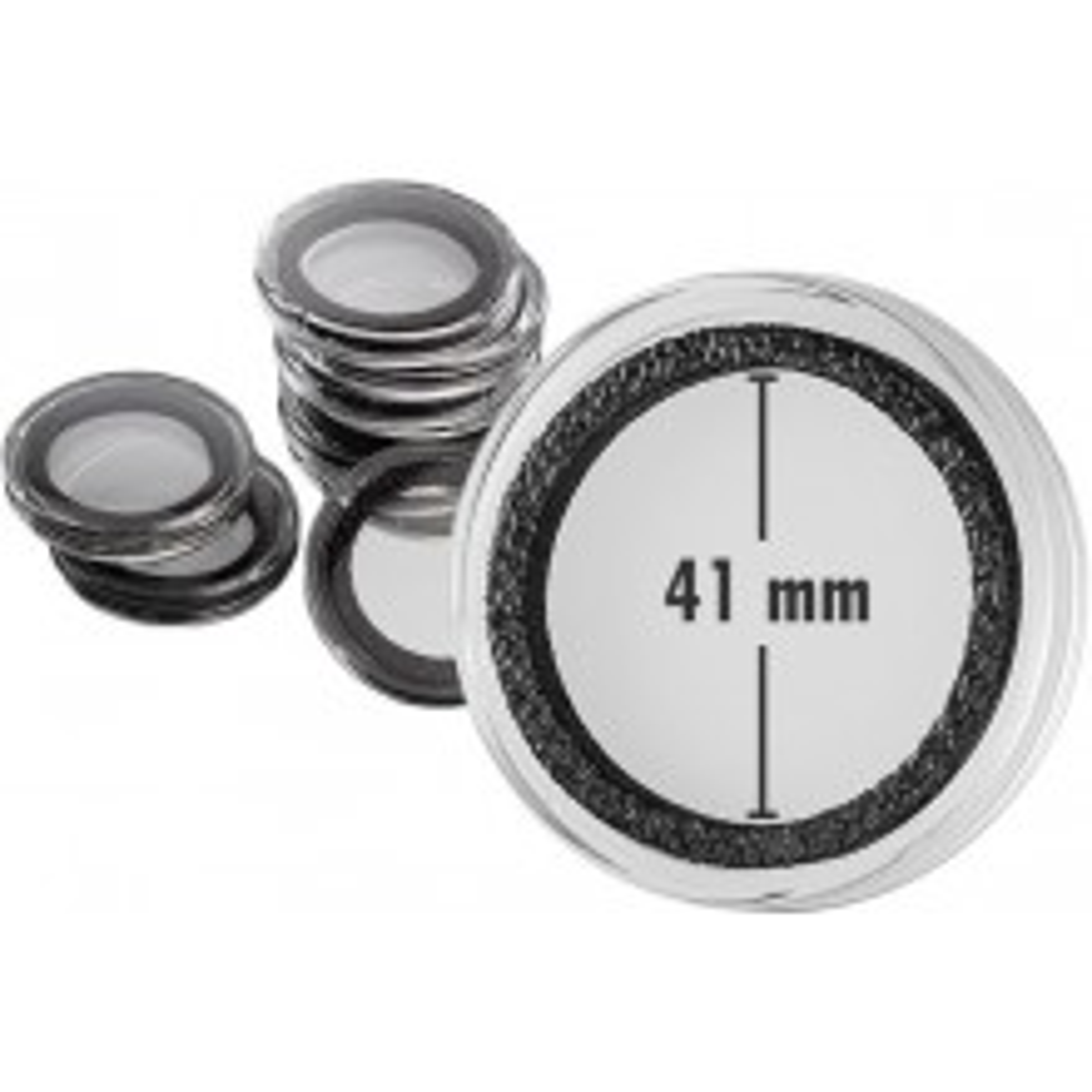 Doos van 10 stuks muntcapsule 41 mm Intercept