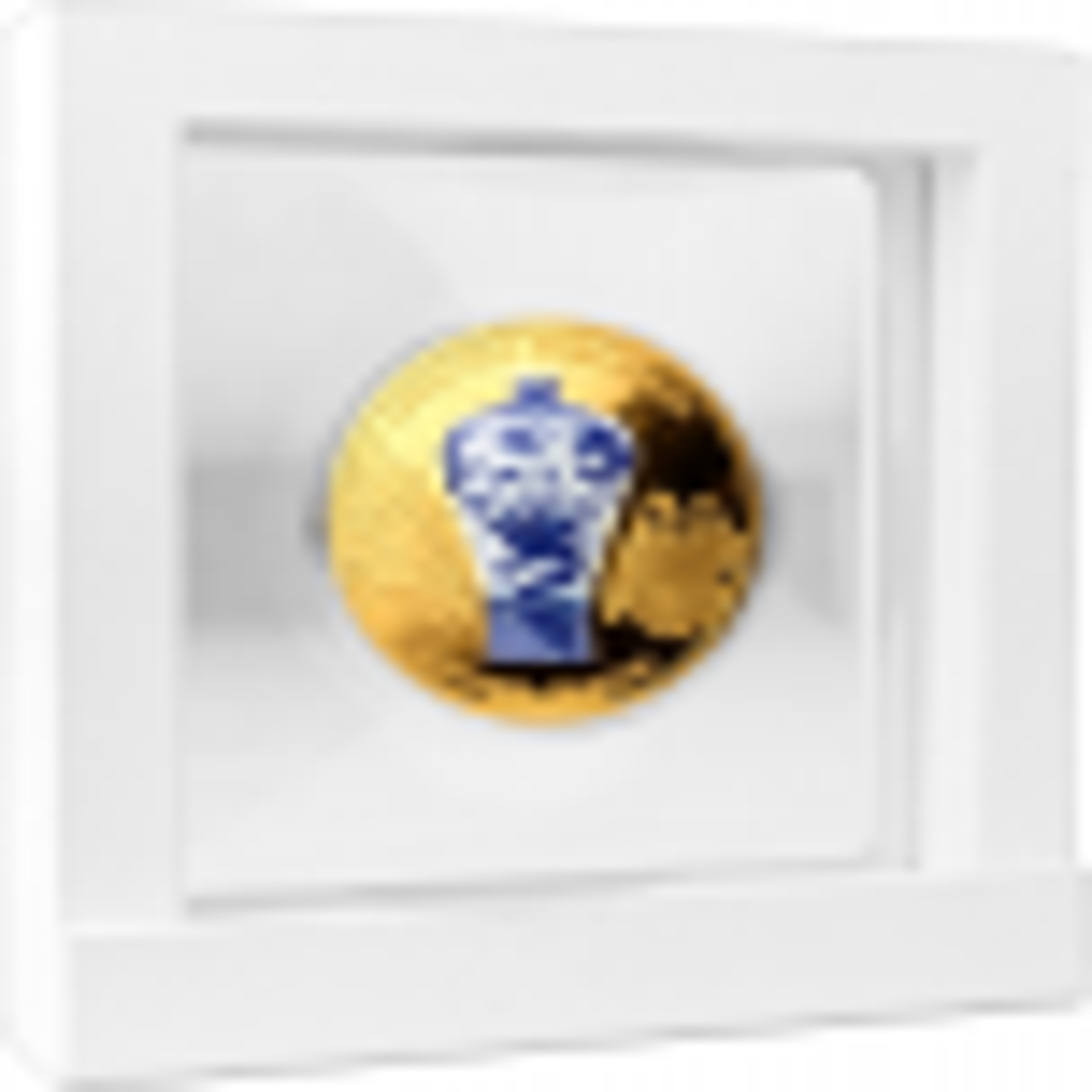 2 troy ounce zilveren munt Chinese Drakenvaas 2021