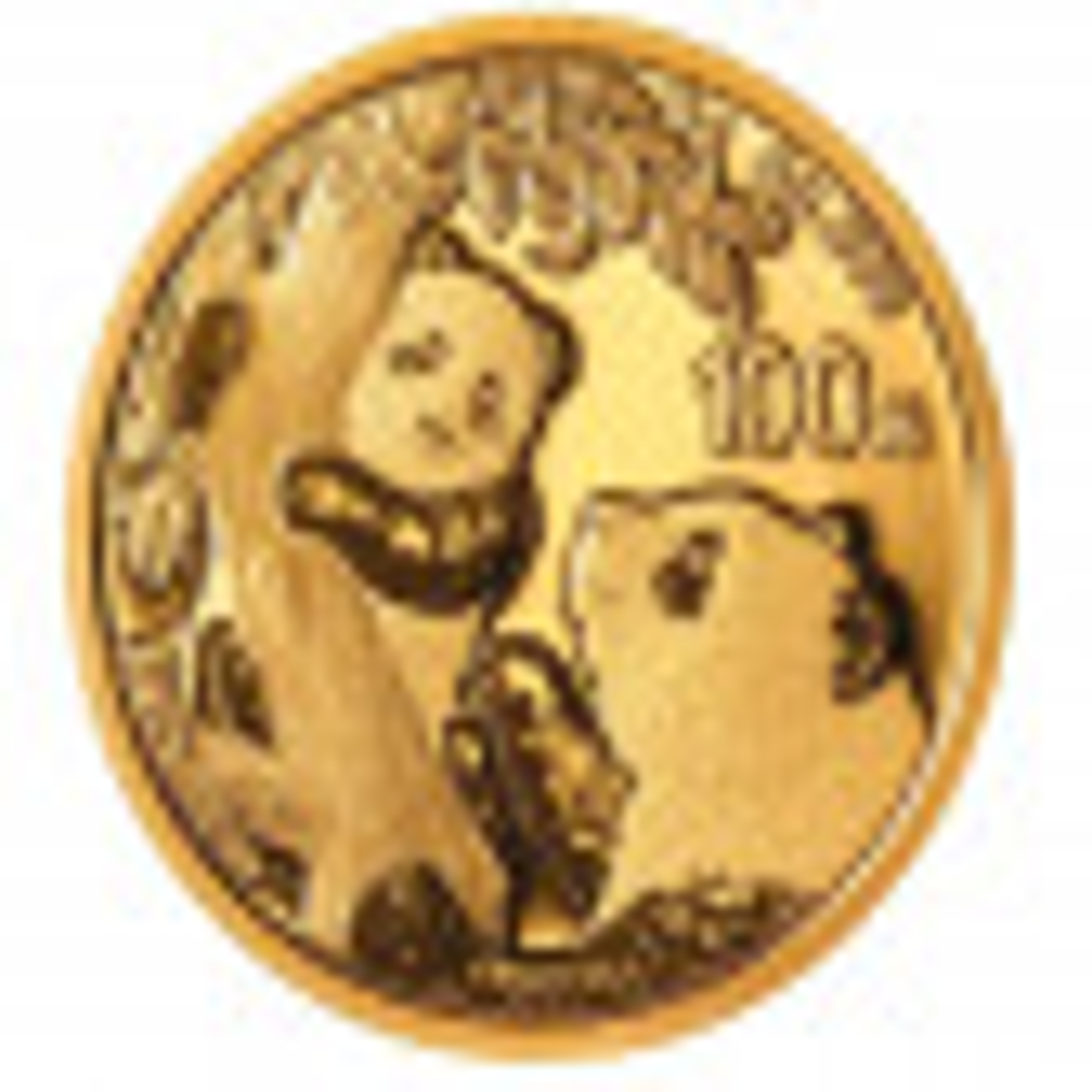 8 Gram gouden munt Panda 2021