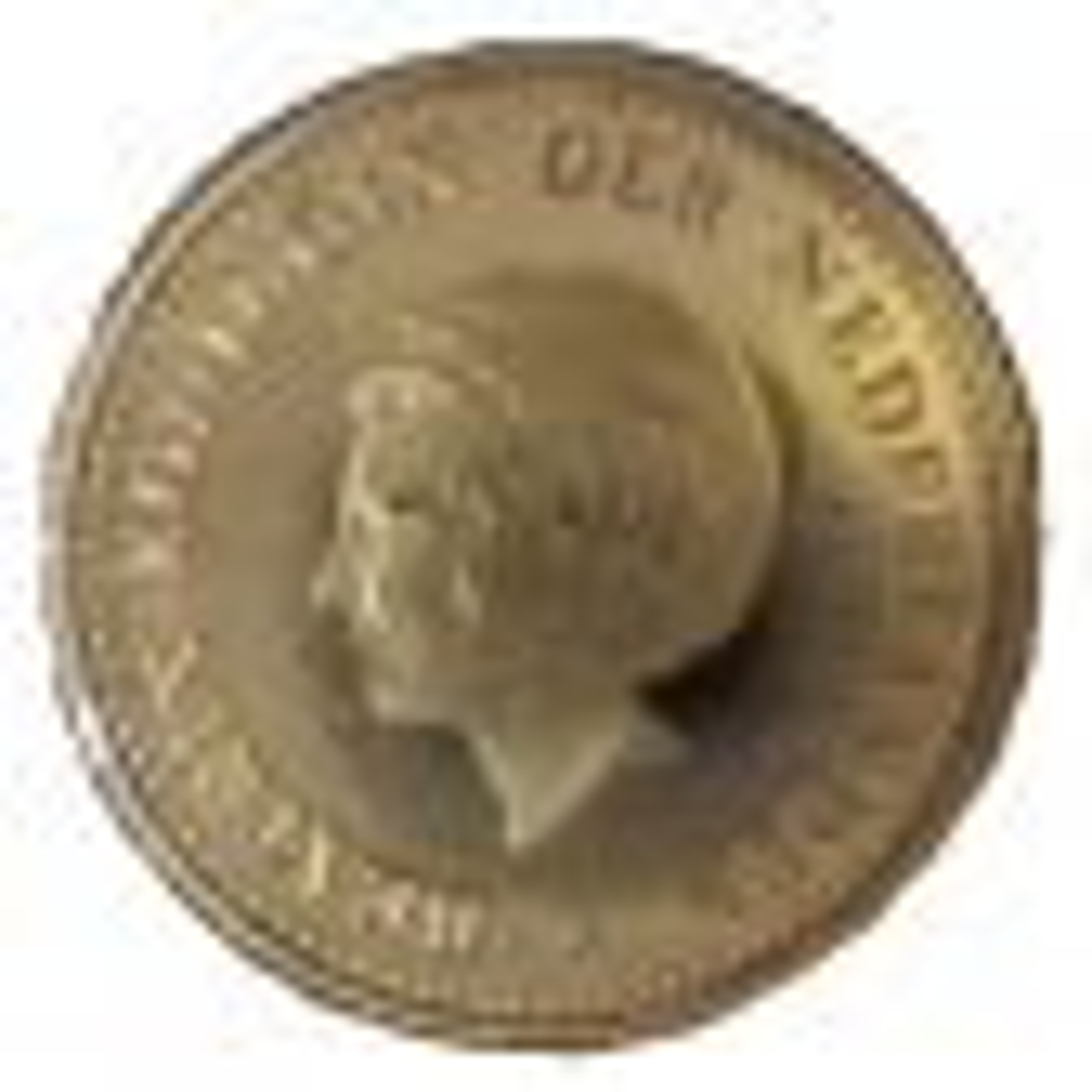 Gouden munt 5 Gulden Nederlandse Antillen (1980) Koningin Beatrix