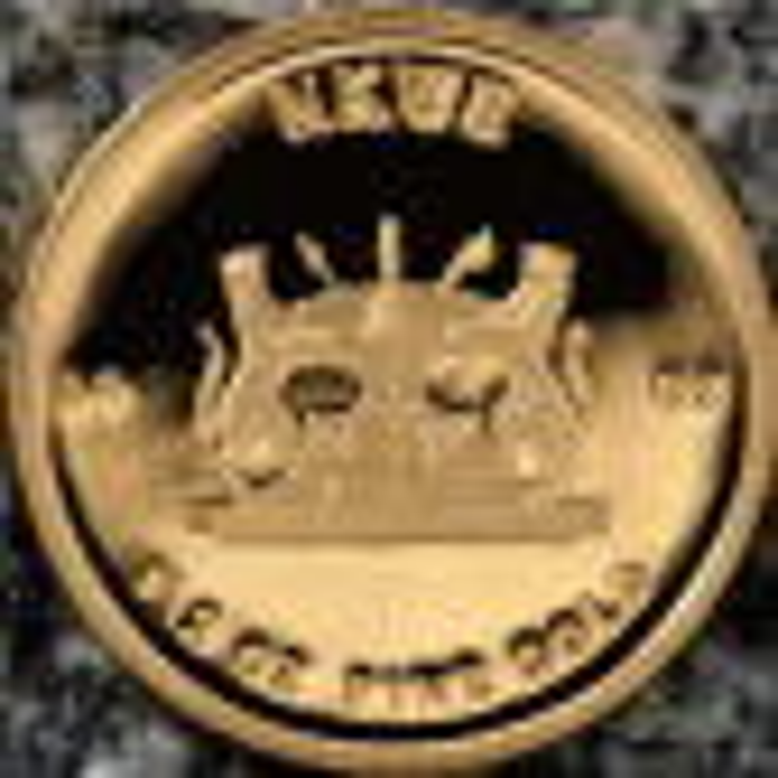 1/2 Troy ounce gouden munt NKWE Bophuthatswana achterzijde