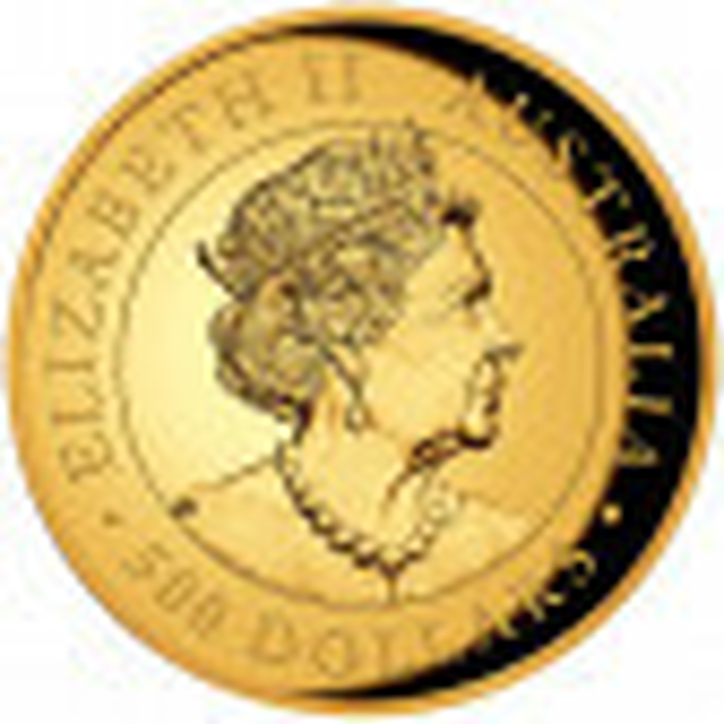 Kookaburra 5 troy ounce gouden munt 2021 Proof