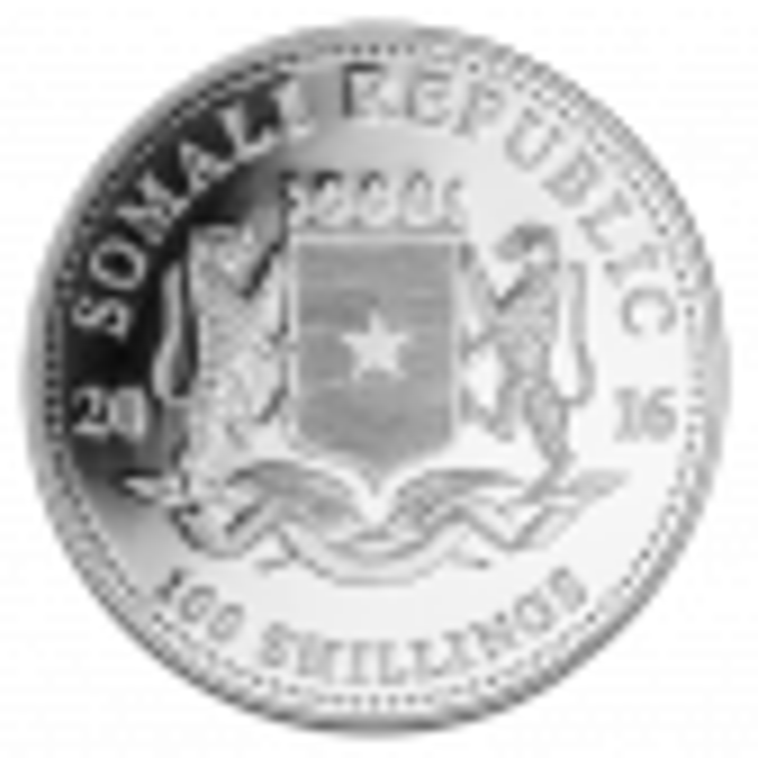 1 Troy ounce zilver munt Somalische Olifant 2016