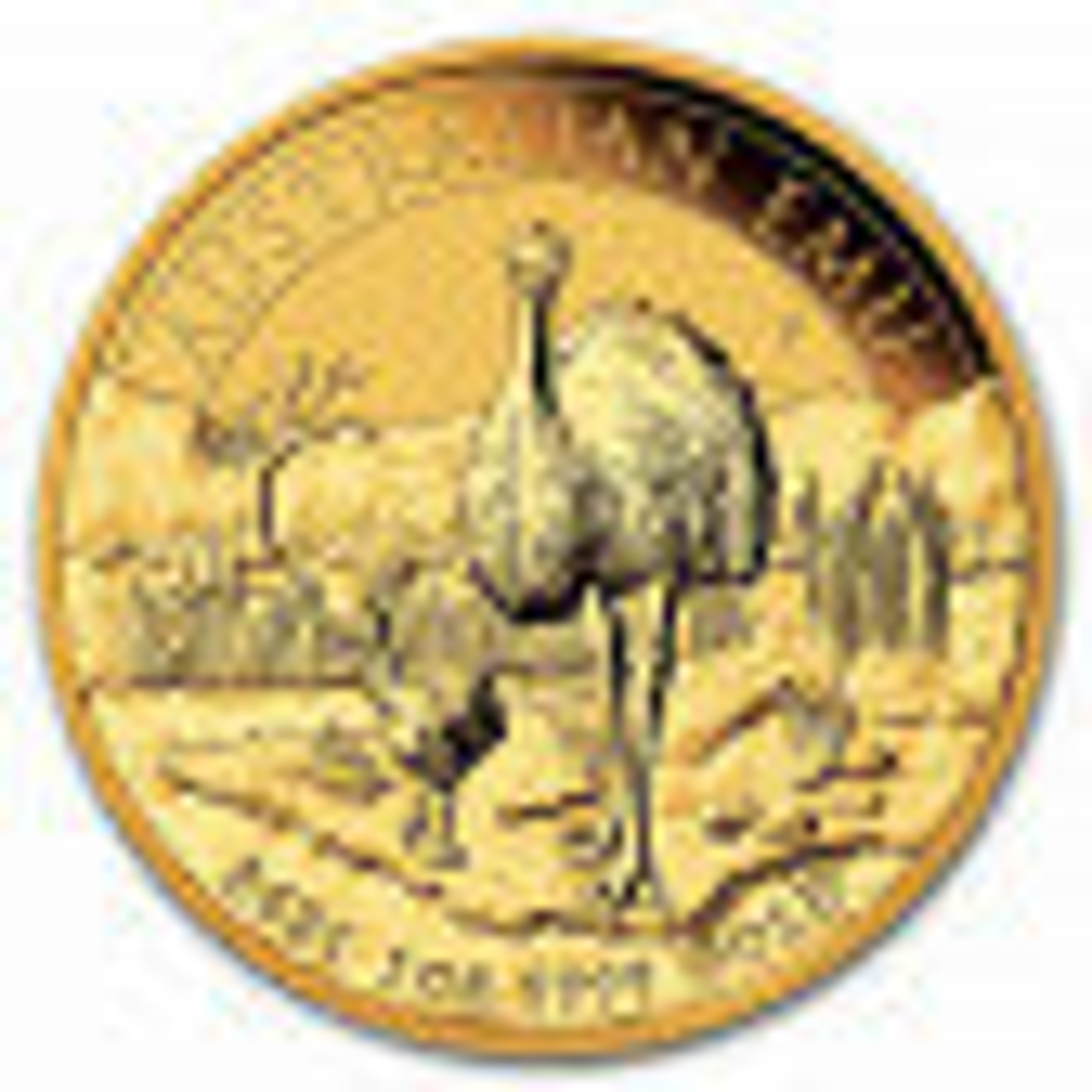 1 troy ounce gouden munt Emoe 2021