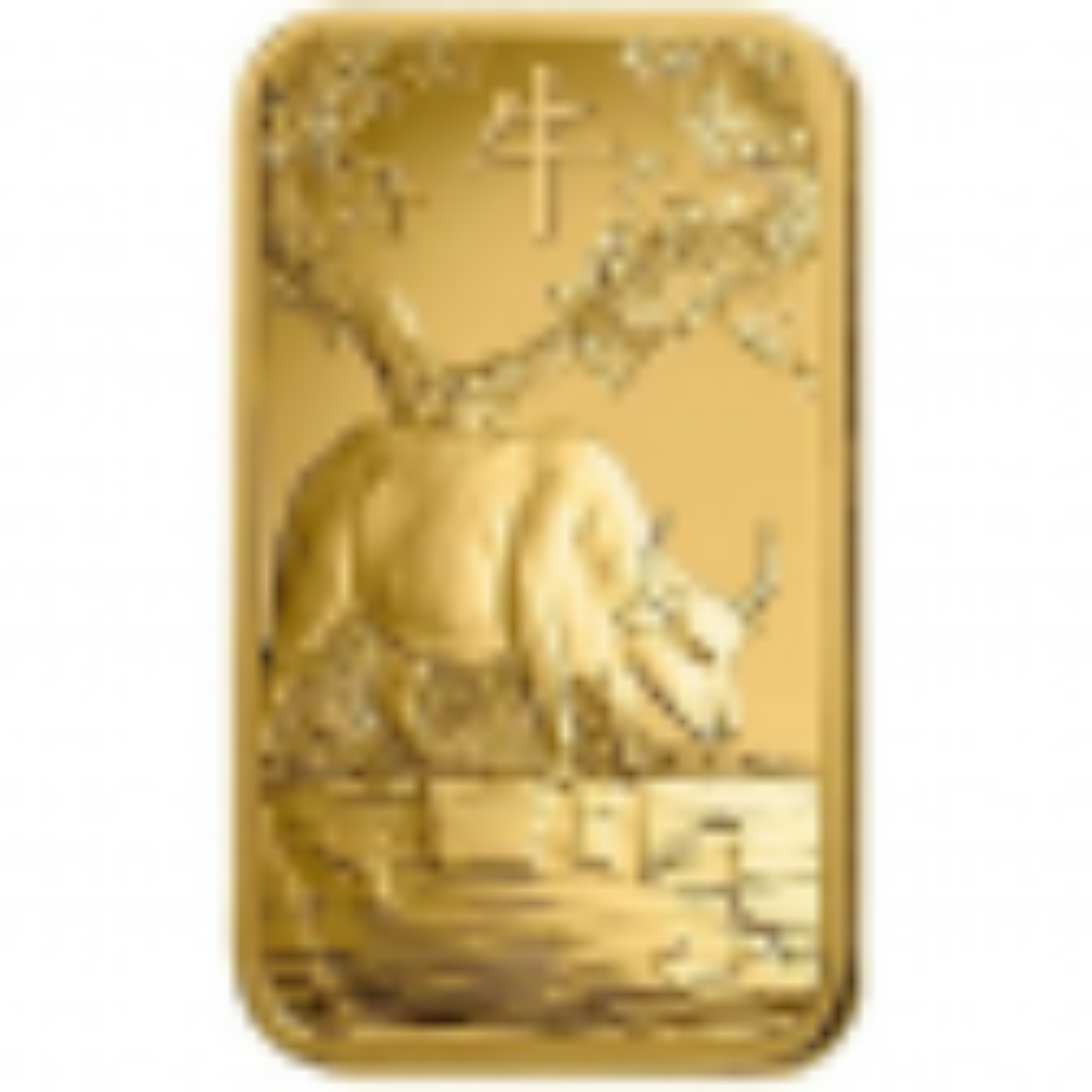 1 gram goudbaar Pamp Suisse Lunar jaar van de os 2021