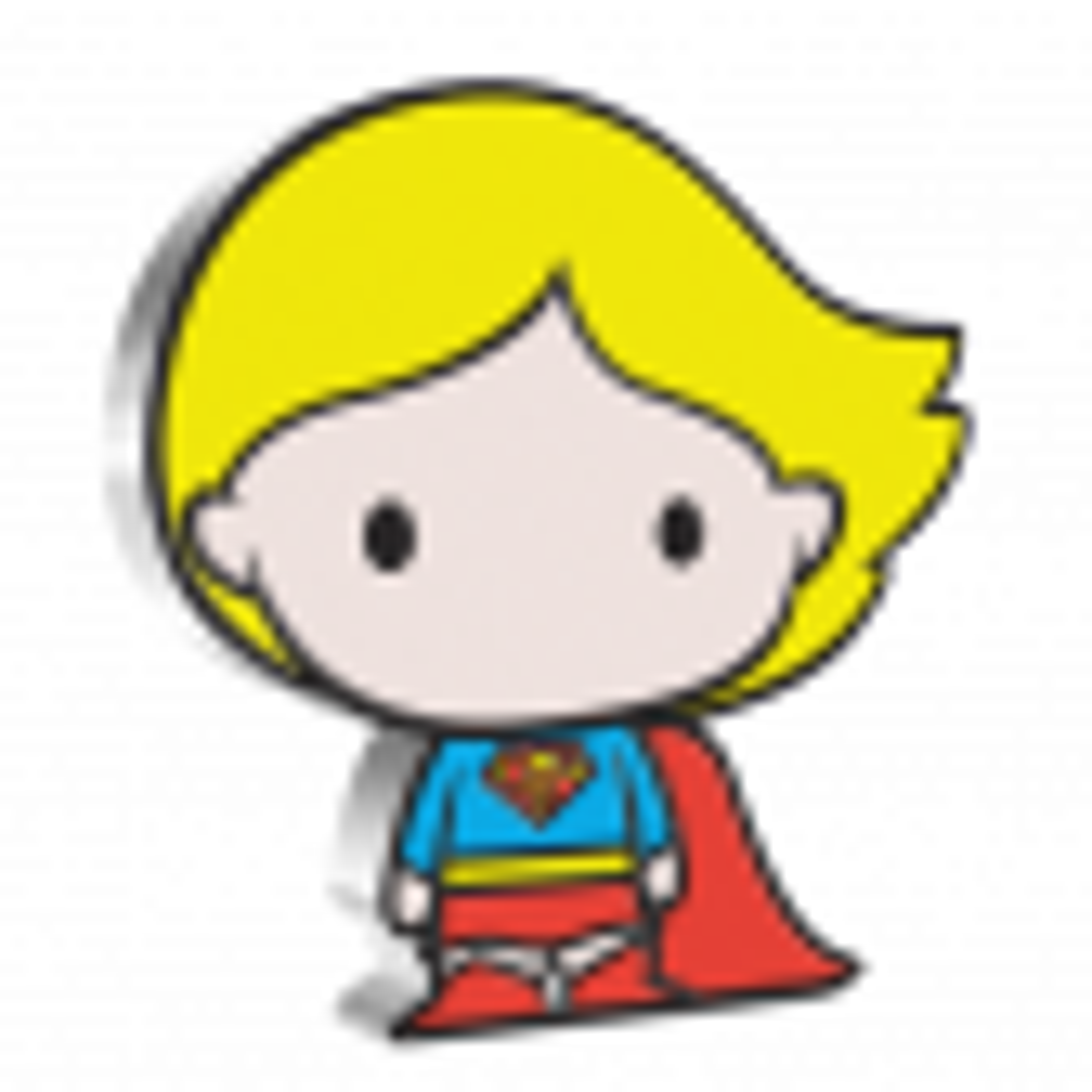 1 troy ounce zilveren munt supergirl