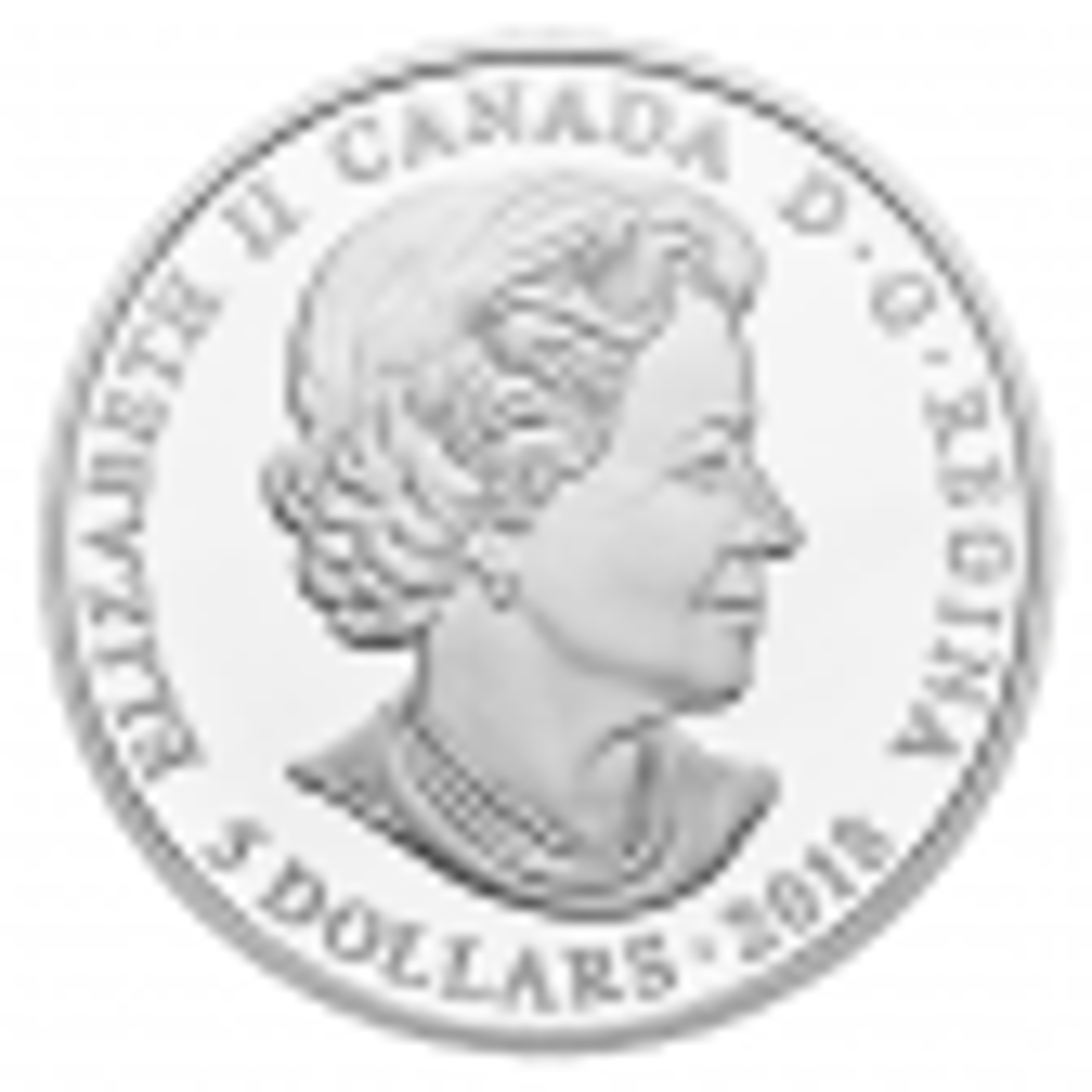 Zilveren munt Juni Birthstone Swarovski achterzijde