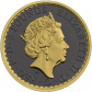 1 Troy ounce zilveren munt Golden Ring - Britannia 2019