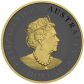 1 Troy ounce zilveren munt Golden Ring - Kangaroo 2019