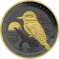 1 Troy ounce zilveren munt Golden Ring - Kookaburra 2019