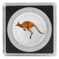 1 Troy ounce zilveren munt Kangaroo 2017 Color Edition