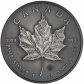 1 Troy ounce zilveren munt Maple Leaf 2016 Antique Finish
