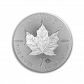 1 Troy ounce zilveren munt Maple Leaf 2019 ingeslagen blad