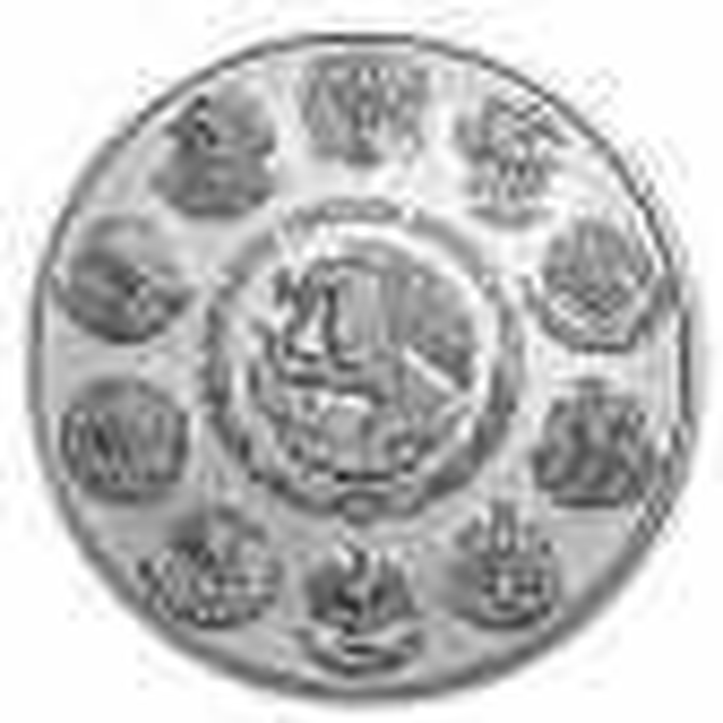 1 Troy ounce zilveren munt Mexican Libertad Circulated