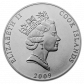 1 Troy ounce Palladium munt Cook Islands Queen Elizabeth II