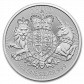 1 Troy ounce zilveren munt Royal Arms 2019