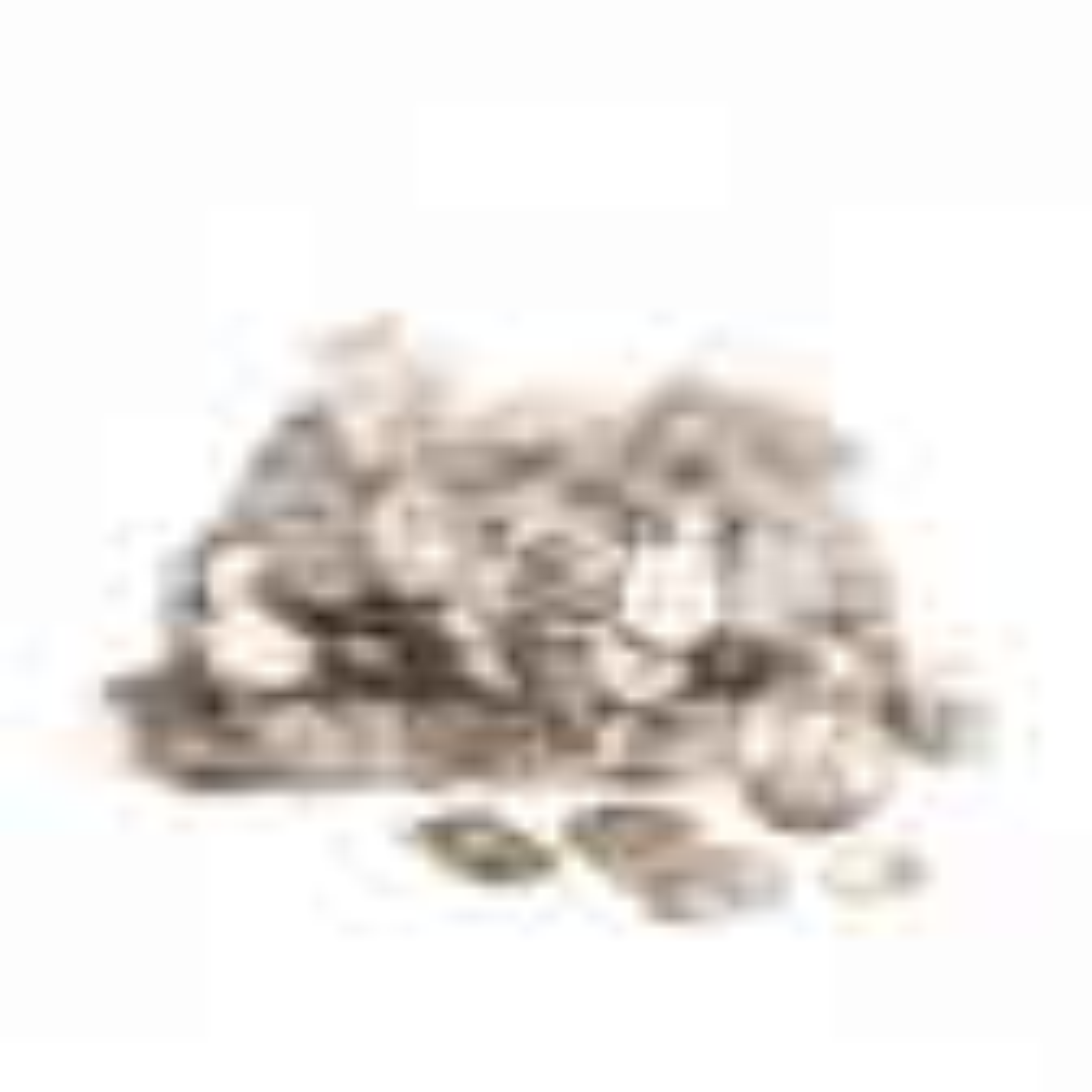 Zak puur zilver Nederlands muntgeld