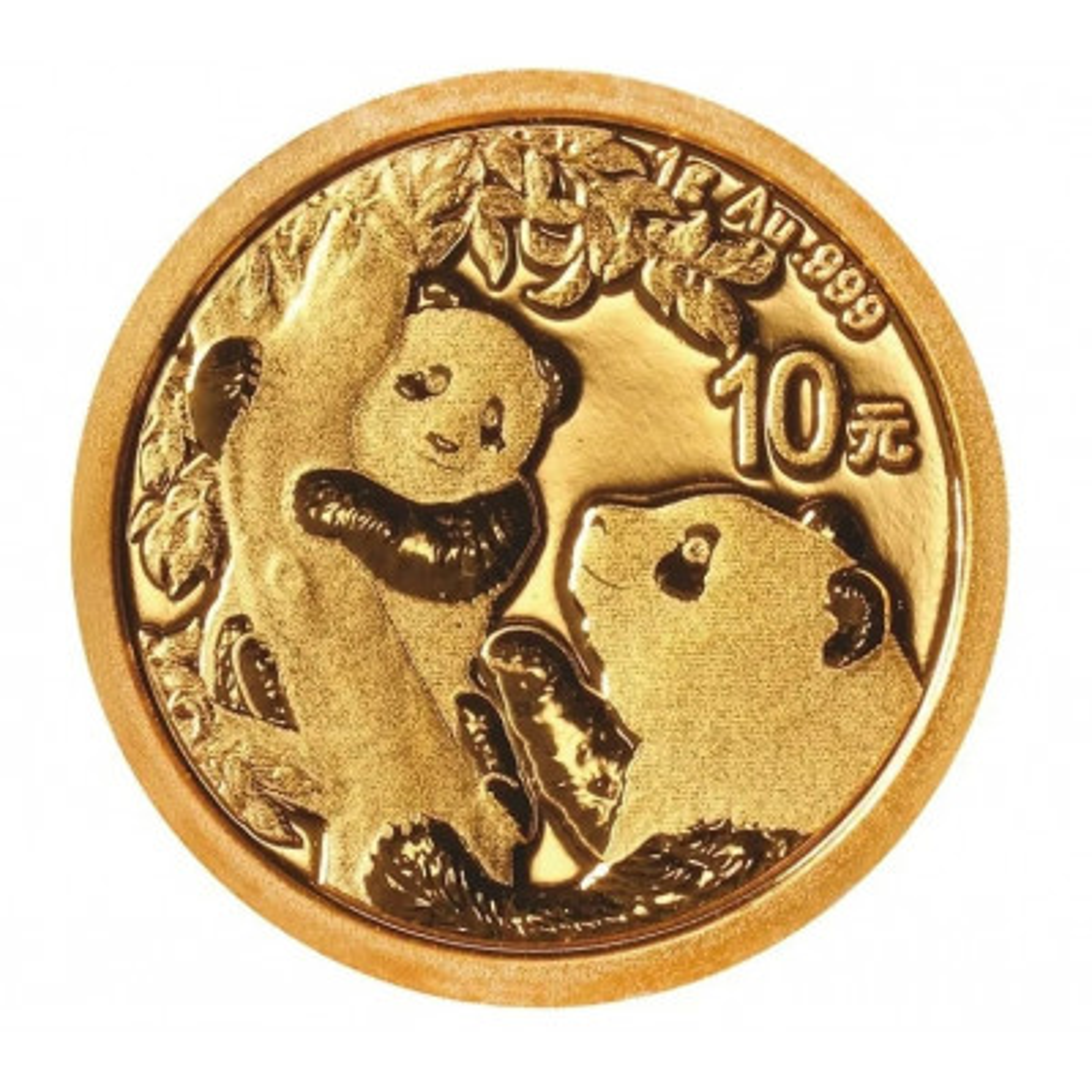 1 Gram gouden munt Panda 2021