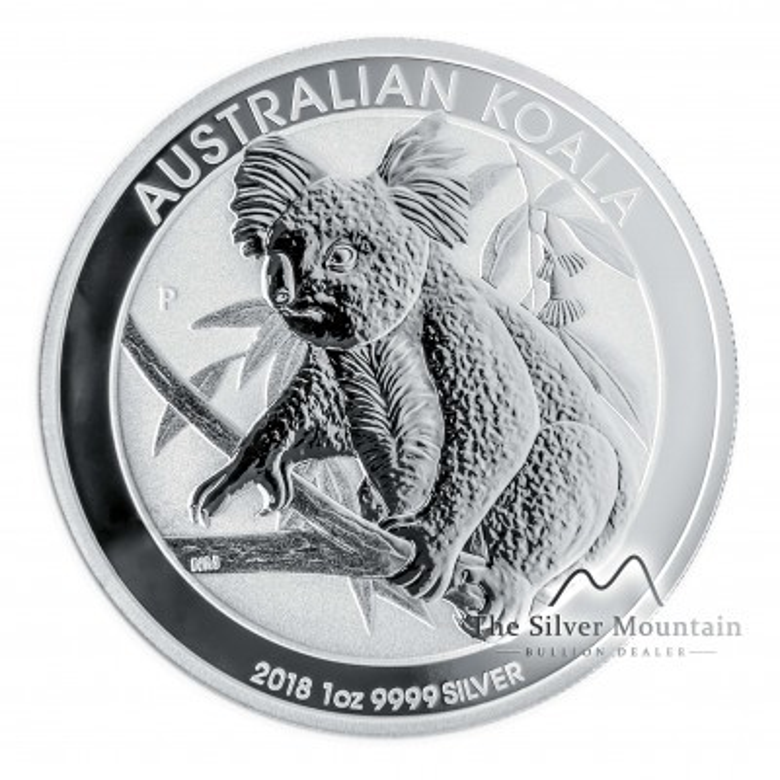 1 troy ounce silver Koala coin 2018