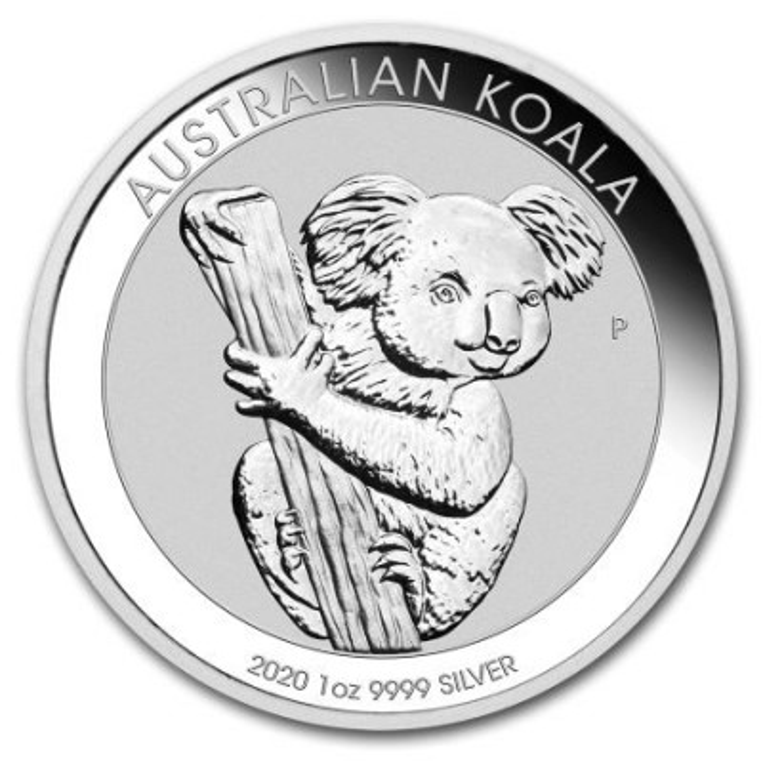 1 Troy ounce zilveren munt Koala 2020