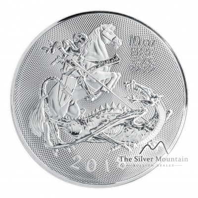 10 Troy ounce silver coin Great-Britain Valiant 2018