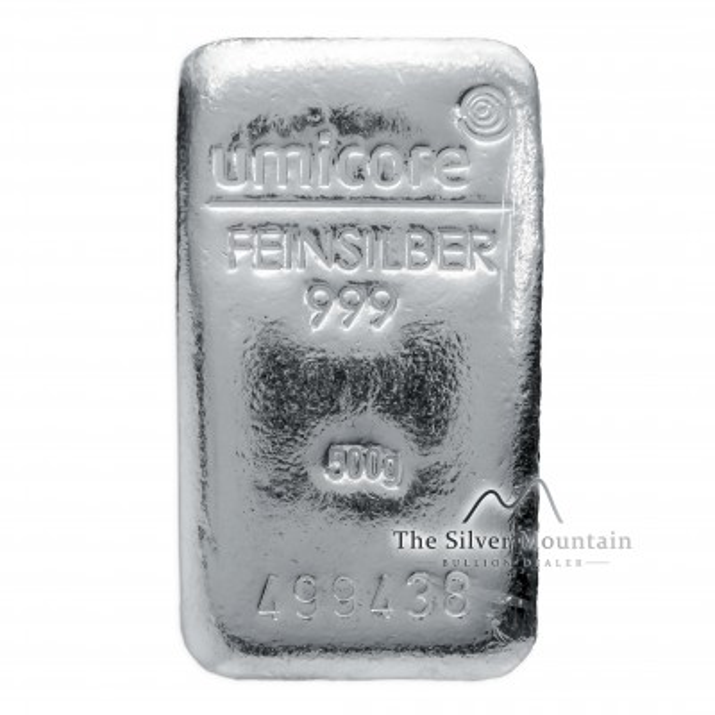 500 grams silver bar