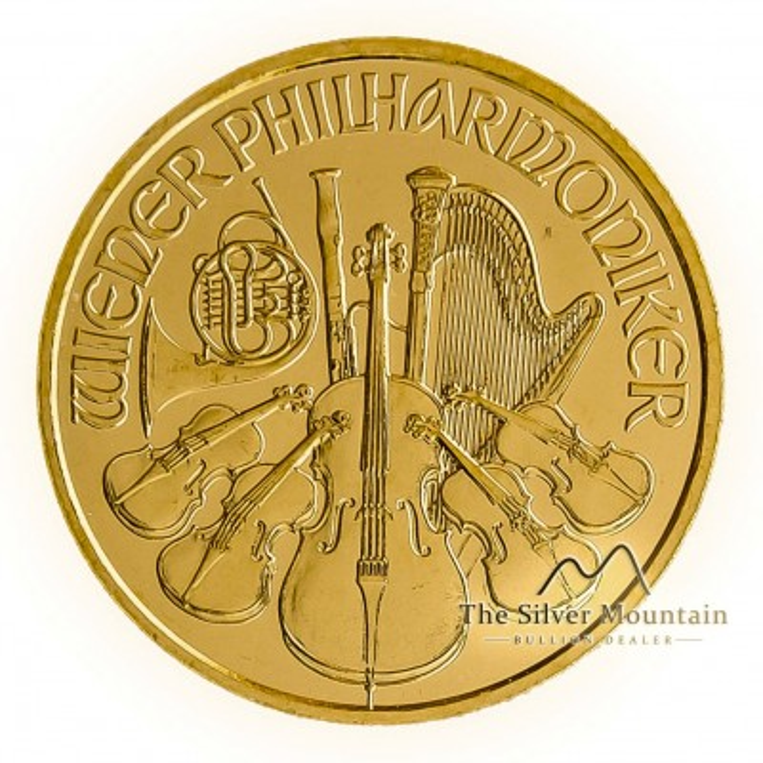 1/10 Troy ounce gold coin Philharmonic