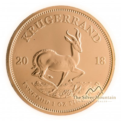 1 troy ounce Gold Krugerrand obverse