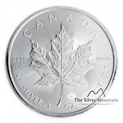 1 troy ounce silver coin Maple Leaf 2019
