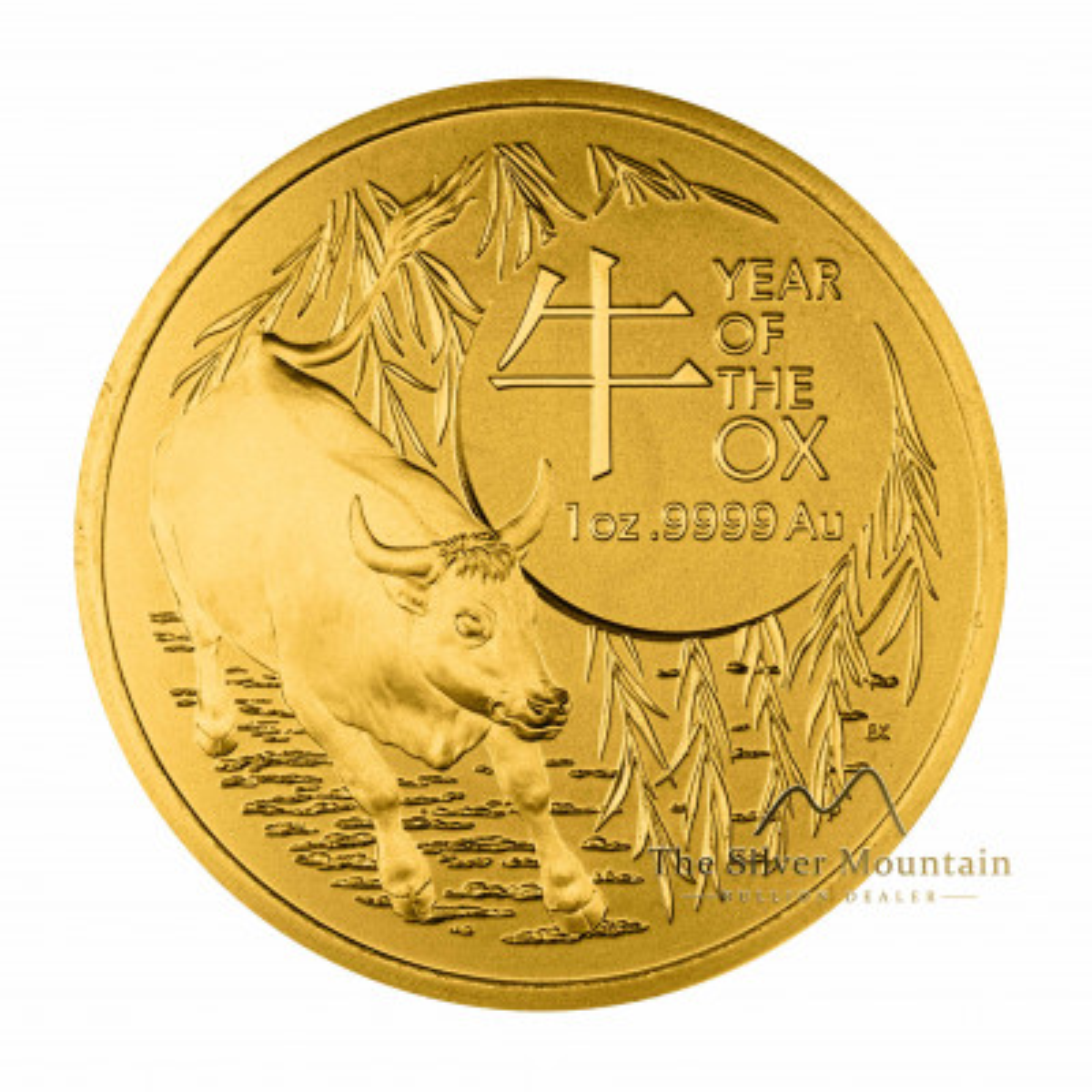 1 troy ounce gouden munt Lunar 2021 Proof