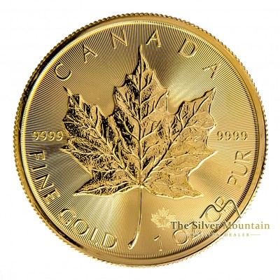 1 Troy ounce gold Maple Leaf coin 2020