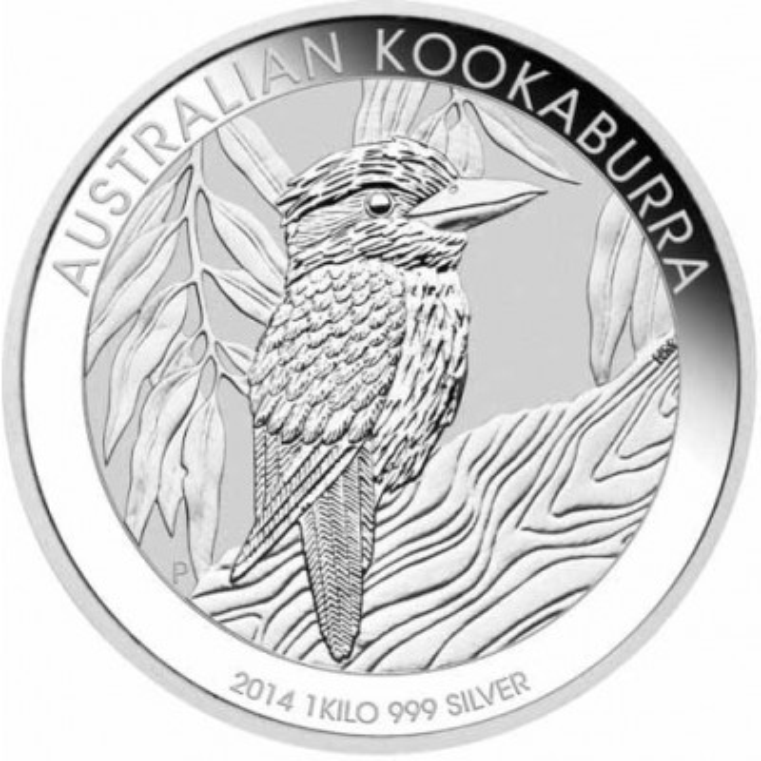 1 kilo silver Kookaburra coin 2014