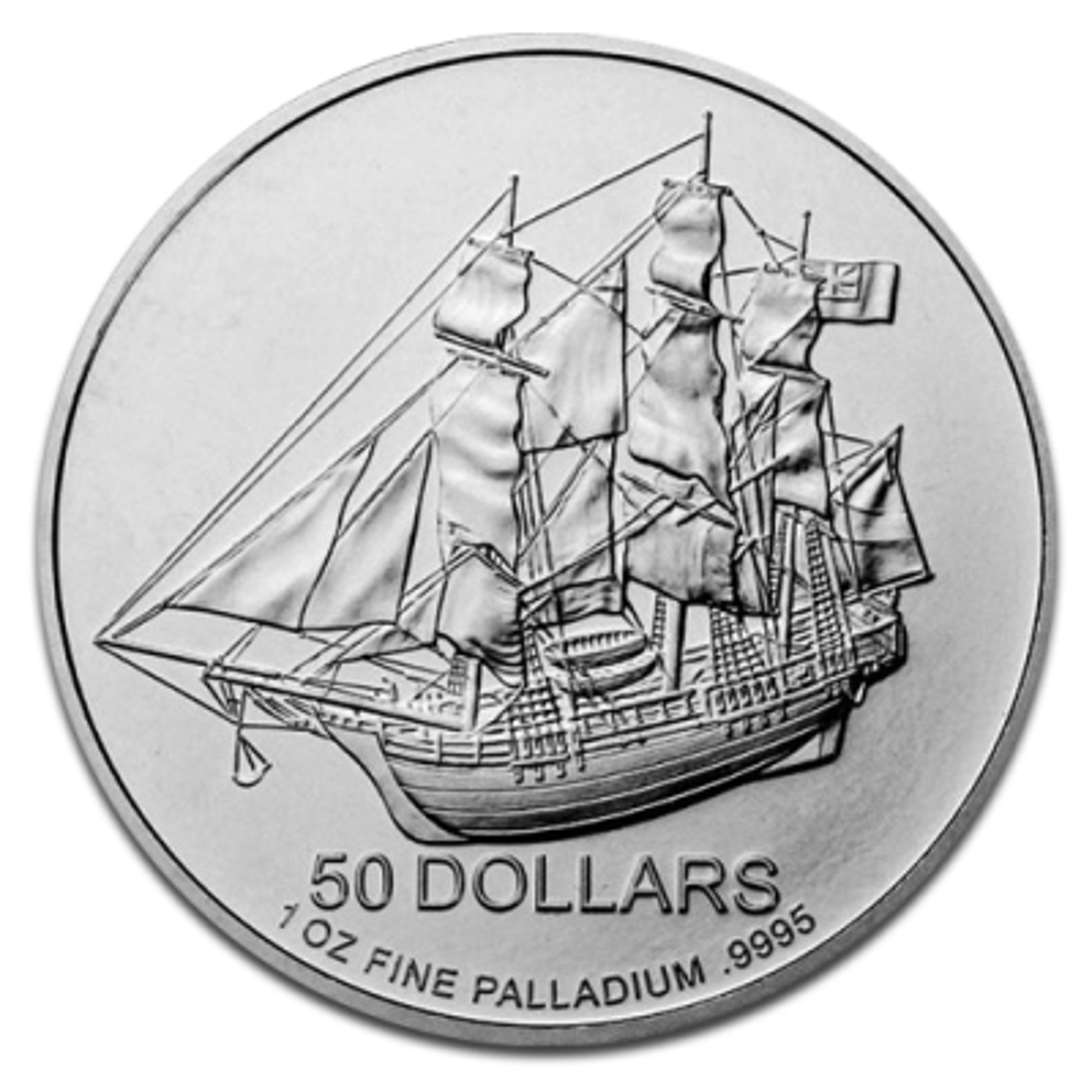 1 Troy ounce Palladium coin Cook Islands